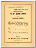 Industrial Dryer Corp 1941 vintage textile ad H-W Conditioner cotton