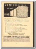 Arnold Hoffman Company 1949 vintage textile ad AHCO chemicals cotton