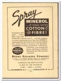 Borne Scrymser Company 1949 vintage chemical ad cotton Breton Minerol