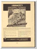 C G Sargents Sons Corp 1949 vintage textile ad continuous extracting