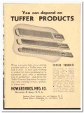 Howard Bros Mfg Company 1949 vintage textile ad Tuffer Products