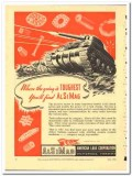 American Lava Corp 1943 vintage electrical ad radio toughest Alsimag