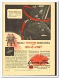 Irvington Varnish Insulator Company 1943 vintage electrical ad double
