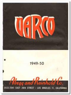 Abegg Reinhold Company 1950 vintage oil catalog oilfield drilling