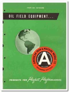 American Iron Machine Works Company 1950 vintage oil catalog oilfield