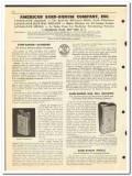 American Sand-Banum Company 1950 vintage oil catalog boiler treatment