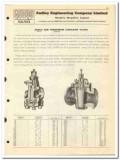 Audley Engineering Company LTD 1950 vintage oil catalog oilfield valve
