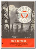 Baash-Ross Tool Company 1950 vintage oil catalog oilfield equipment