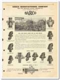 Barco Mfg Company 1950 vintage oil catalog oilfield ball swivel joints