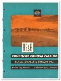 Black Sivalls Bryson Inc 1950 vintage oil catalog oilfield equipment