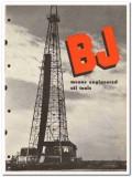 Brewster Company Inc 1950 vintage oil catalog oilfield drilling