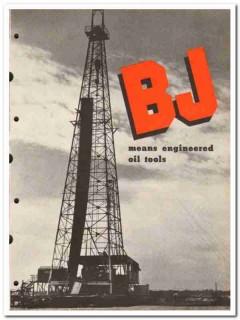 Byron Jackson Company 1950 vintage oil catalog oilfield tools drills