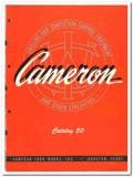 Cameron Iron Works Inc 1950 vintage oil catalog oilfield drilling