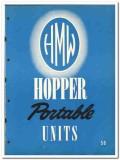 Hopper Machine Works Inc 1950 vintage oil catalog oilfield portable
