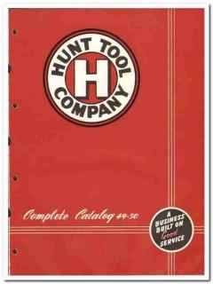 Hunt Tool Company 1950 vintage oil catalog oilfield drilling equipment