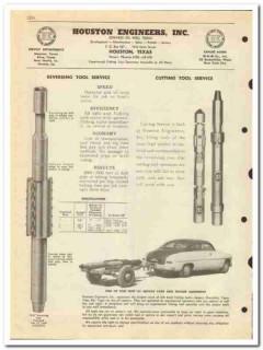 Houston Engineers Inc 1950 vintage oil catalog oilfield tool service
