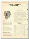 Chicago Pneumatic Tool Company 1950 vintage oil catalog oilfield bits