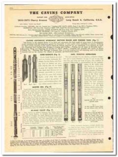 Cavins Company 1950 vintage oil catalog oilfield fishing tools valves