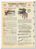 Billings Spencer Company 1950 vintage oil catalog oilfield wrenches