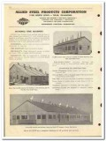 Allied Steel Products Corp 1950 vintage oil catalog oilfield buildings