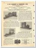 A M Lockett Company 1950 vintage oil gas catalog oilfield pump unit
