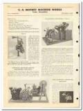 C A Mathey Machine Works 1950 vintage oil gas catalog oilfield meters