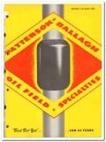 Byron Jackson Company 1950 vintage oil gas catalog Paterson-Ballagh
