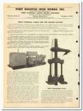 Port Houston Iron Works Inc 1950 vintage oil catalog oilfield casing