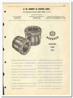 J K Smit Sons Inc 1950 vintage oil gas catalog oilfield diamond bits