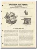 Advance Oil Tool Company 1951 vintage catalog oilfield tubing spider