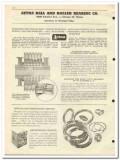 Aetna Ball Roller Bearing Company 1951 vintage oil catalog oilfield