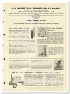 Air Reduction Magnolia Company 1951 vintage oil catalog oilfield Airco