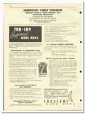 American Chain Cable Company 1951 vintage oil catalog oilfield wire