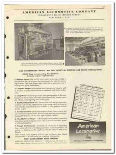 American Locomotive Company 1951 vintage oil catalog oilfield Diesel