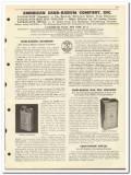 American Sand-Banum Company 1951 vintage oil catalog oilfield boiler