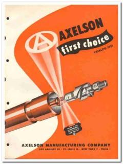 Axelson Mfg Company 1951 vintage oil gas catalog oilfield pumping