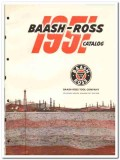 Baash-Ross Tool Company 1951 vintage oil catalog oilfield equipment