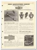 Barco Mfg Company 1951 vintage oil catalog oilfield swivel ball joints