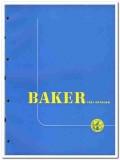 Baker Oil Tools Inc 1951 vintage catalog oilfield drilling equipment