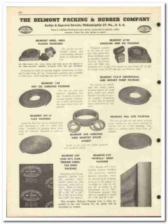 Belmont Packing Rubber Company 1951 vintage oil gas catalog oilfield