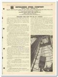Bethlehem Steel Company 1951 vintage oil catalog oilfield wire rope