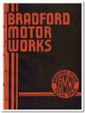 Bradford Motor Works 1951 vintage oil gas catalog oilfield pumping