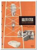 Brewster Company 1951 vintage oil catalog oilfield drilling equipment