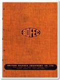 British Oilfield Equipment Company LTD 1951 vintage oil catalog BOFEC