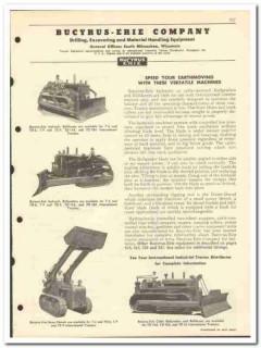 Bucyrus-Erie Company 1951 vintage oil catalog oilfield spudders