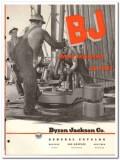 Byron Jackson Company 1951 vintage oil gas catalog oilfield equipment