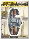 Cardwell Mfg Company 1951 vintage oil catalog oilfield draw works rig