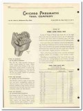 Chicago Pneumatic Tool Company 1951 vintage oil catalog oilfield bits