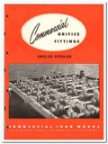 Commercial Iron Works 1951 vintage oil gas catalog oilfield fittings