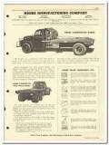 Hobbs Mfg Company 1951 vintage oil gas catalog oilfield truck bodies